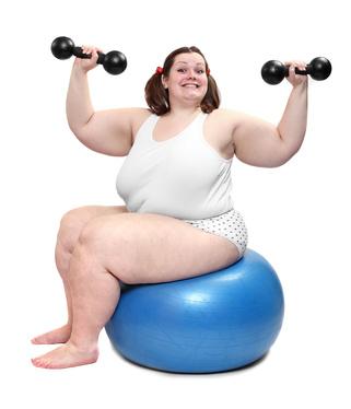 Sportarten für dicke Menschen